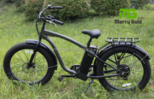 comfortable easy riding hot sale beach fat tire 26inch 500w bafang motor electric bike