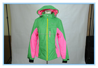fashionable designed xxl womens ski jacket