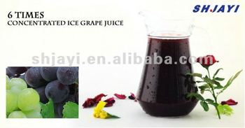 6 times concentrated grape juice