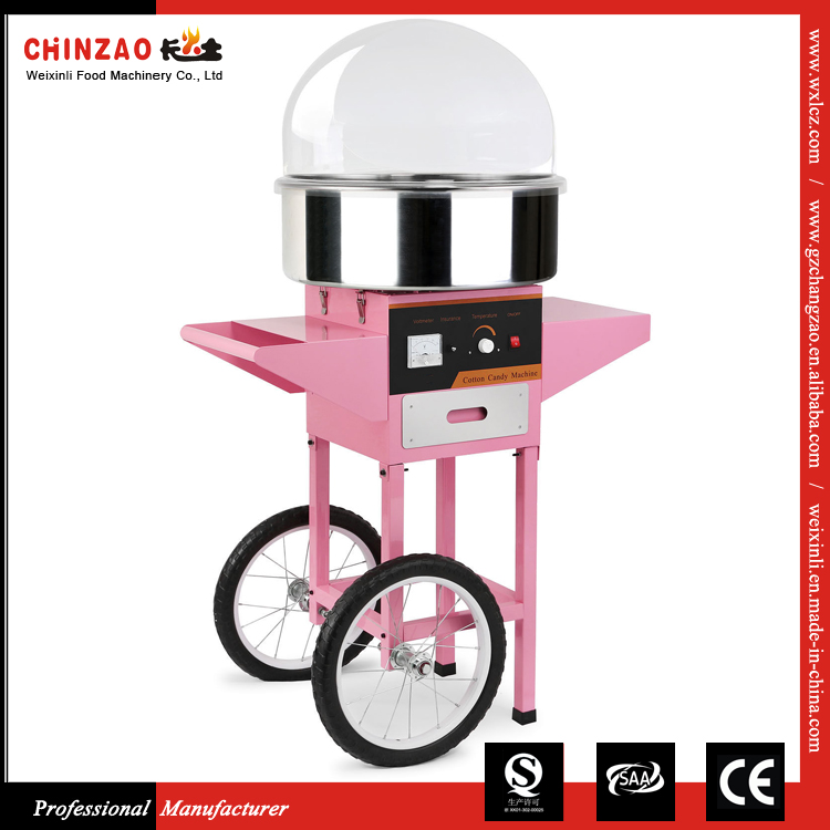 Electric Cotton Candy Floss Machine Maker Cart Party Supply Sugar Floss