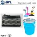 Excellent chemical resistance silicone colorful spray for silicone keypads