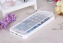 Hot sale flip TPU Gel shockproof hybrid case for iphone 5 5s full protective mobile phone case