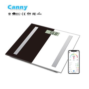 Amazon hot selling Smart  Bluetooth Body Fat weighing scale