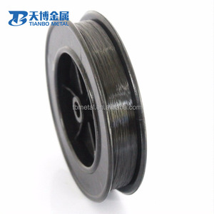 high purity tungsten wire in coils / w1 99.95% tungsten heating wire