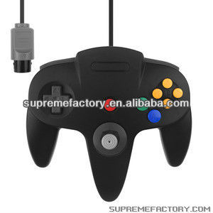 For Nintendo 64 N64 Wired Game Controller With Retail Packaging