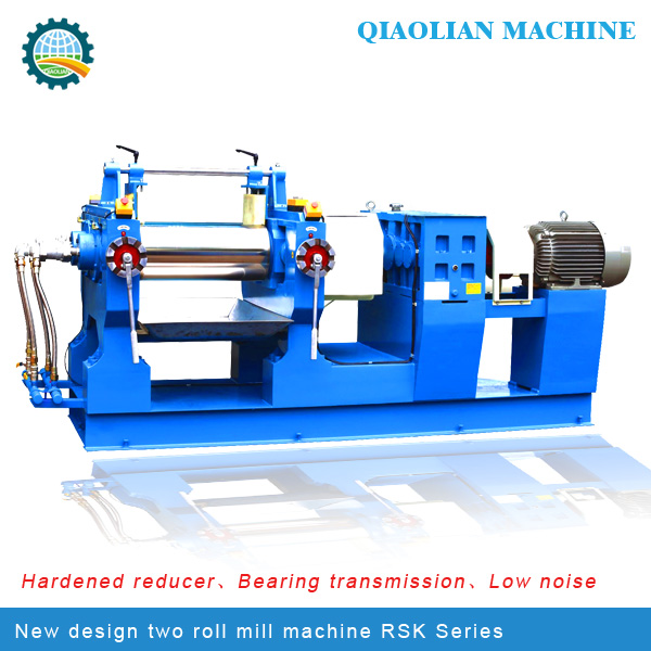 Well lubricating with spray type and long usefull line-Two Roll Open Rubber Mixing Mill Rubber Machine