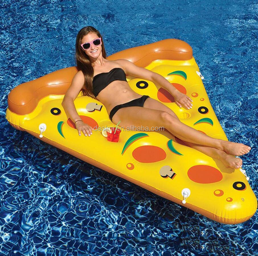 DEMI Wholesale eco-friendly inflatable pizza pool float