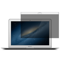 laptop with magnet two sides adsorption PET privacy screen protector for macbook
