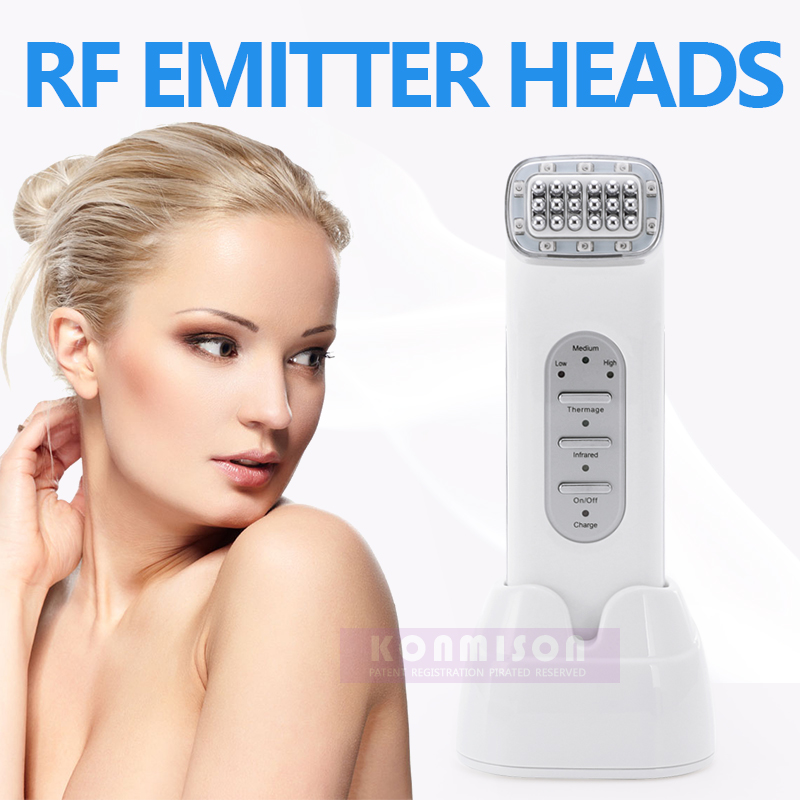 Portable home use skin rejuvenation wrinkle removal rf machine with infrared