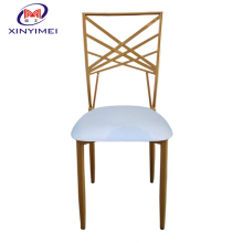 2017 wholesale gold metal sillas chiavari chair