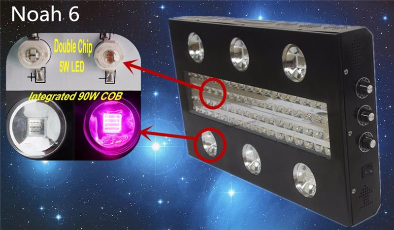 Hot selling 3w 630nm led grow light with low price