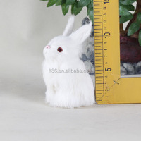 handmade haloween plastic bunny toy,furry dolls and toys