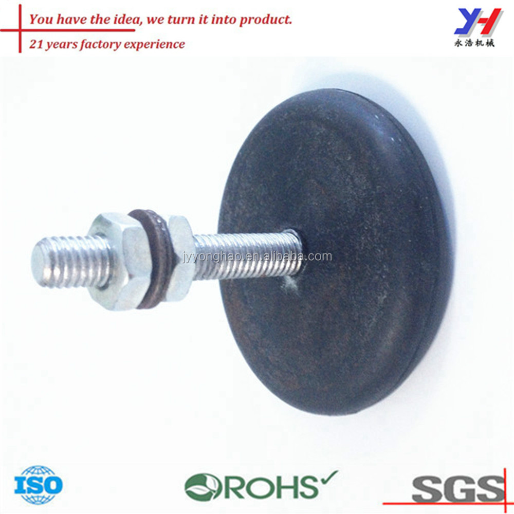 OEM ODM ISO ROHS SGS certified custom cheap stainless steel leveling feet