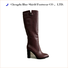 2017 high heel women genuine leather over the knee boots
