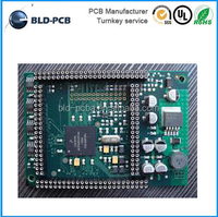 am fm tuner hard disk Rohs Pcb Board 2-layer FR4 multilayer PCB assembly service