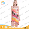 2016 summer young lady fashion dress beach party style short dress