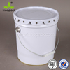 tinplate pail with handle for solvent/lubricant pail