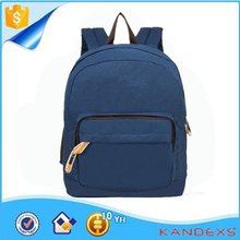 Newest Fashion School Backpack Wholesale Cheap Canvas Custom Logo School Backpack