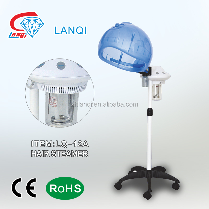 LANQI LQ-12A BEAUTY SALON SPRAY SPA EQUIPMENT OZONE IONIC HAIR STEAMER
