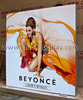SEG fabric advertising led lightbox, fabric light frame, tradeshow textile light box