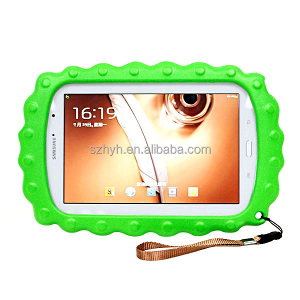 Cushion Child proof 7 inch tablet case cute waterproof and shockproof tablet case cover