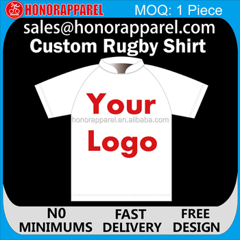 Wholesale Sublimation Custom Cheap Rugby Jersey Design