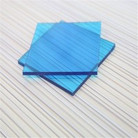 ROHS SGS GE lexan plastic 100% Virgin material polycarbonate colored transparent plastic panel