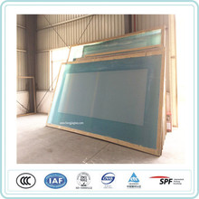 silk print tempered glass