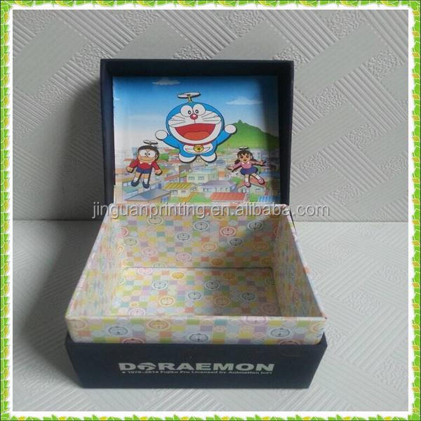 high quality paper box for gift / Doraemon paper box for gift / Doraemon paper box for children