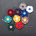 Wholesale Fabric Flower Brooch Lot Crafts Men Lapel Pins Flower for Wedding Suit