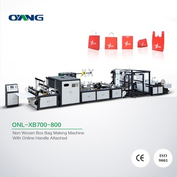 Good after-sale service non woven bag making machine price in sewing machines