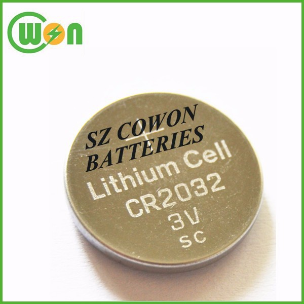 3 volts button battery cr2032 3v lithium battery cell