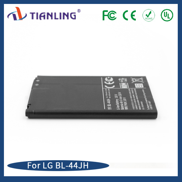 Replacement mobile phone battery wholesale BL-44JH 1700mAh for LG Motion 4G MS770 Optimus L7 P700 P750