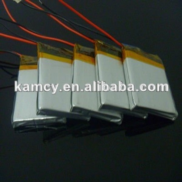 2015 hot sale factory price 503450 053450 3.7V 1000mAh lithium polymer battery for car black box