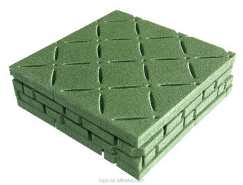 10mm thickness Shock absorbing pad for artificial grass