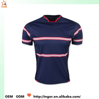 Online dri fit custom unusual design your own rugby shirt made in china
