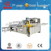 semi automatic carton folding and Gluing machine, corrugated carton box folder and gluer machine
