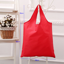 Promotion Factory Wholesale Cheap 190T 210T Logo Printed Custom Reusable Nylon Polyester Foldable Shopping Bag