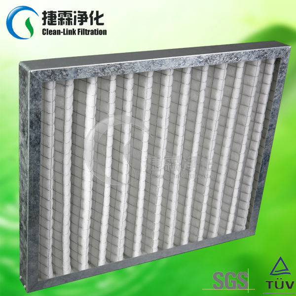 Manufacturing G3/G4 Synthetic Fibre Foldaway Pleated Panel Filters