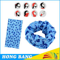 Neck Bandana Tube Headwear Scarf
