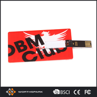 2016 new products wholesale usb visiting card