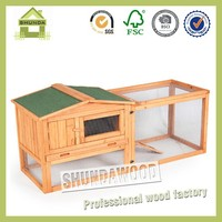 SDR15 Firm and Strong Wooden Rabbit House