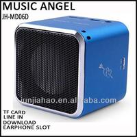 MUSIC ANGEL factory MD06D smallest cell phone boat speakers volume control speaker ow speakers smallest cell phone