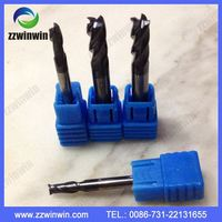 4 Flutes end mills cut HRC55 steel CNC Milling tools carbide end mill metal working tungsten carbide tools