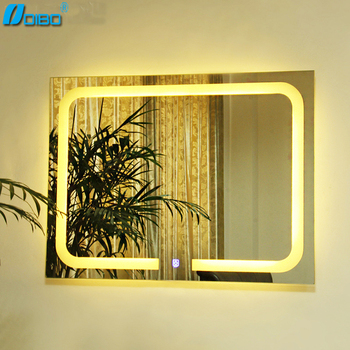 Decorative Vanity Frameless LED Lighted model of bathroom mirrors