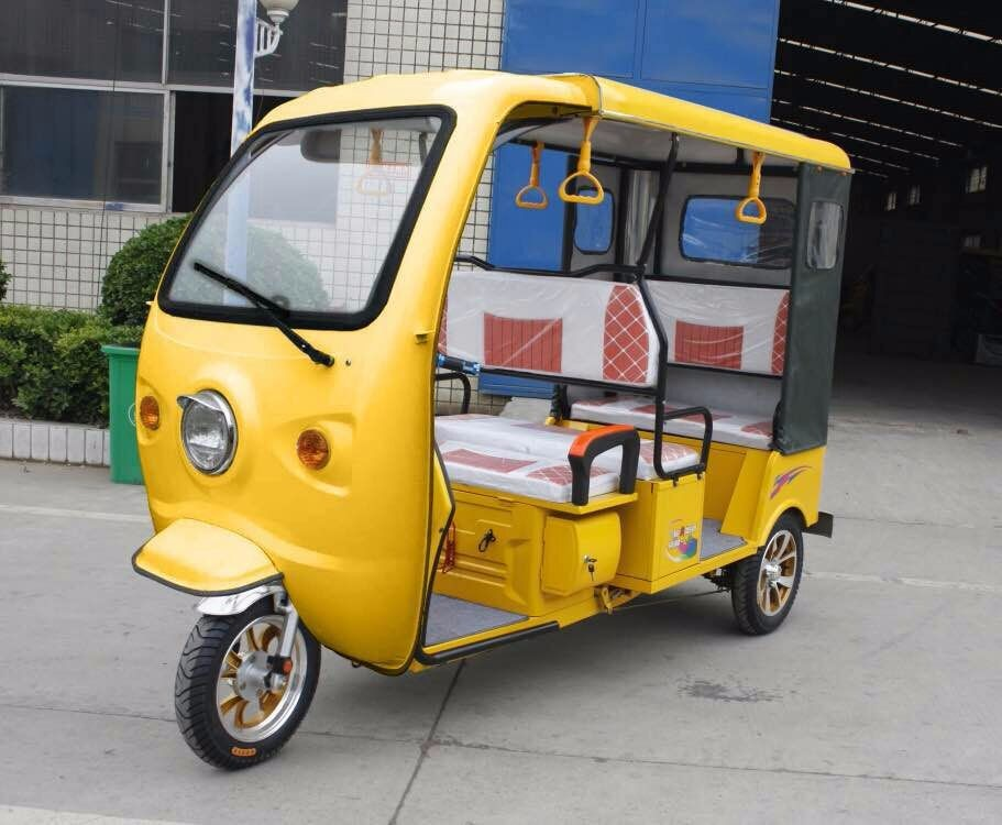 New style Adult Three Wheel Taxi Passenger Tricycles for european market Venus-SRX1