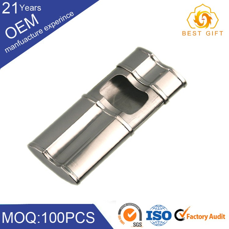 Wholesale windproof stainless steel metal ashtray with wonderful quality