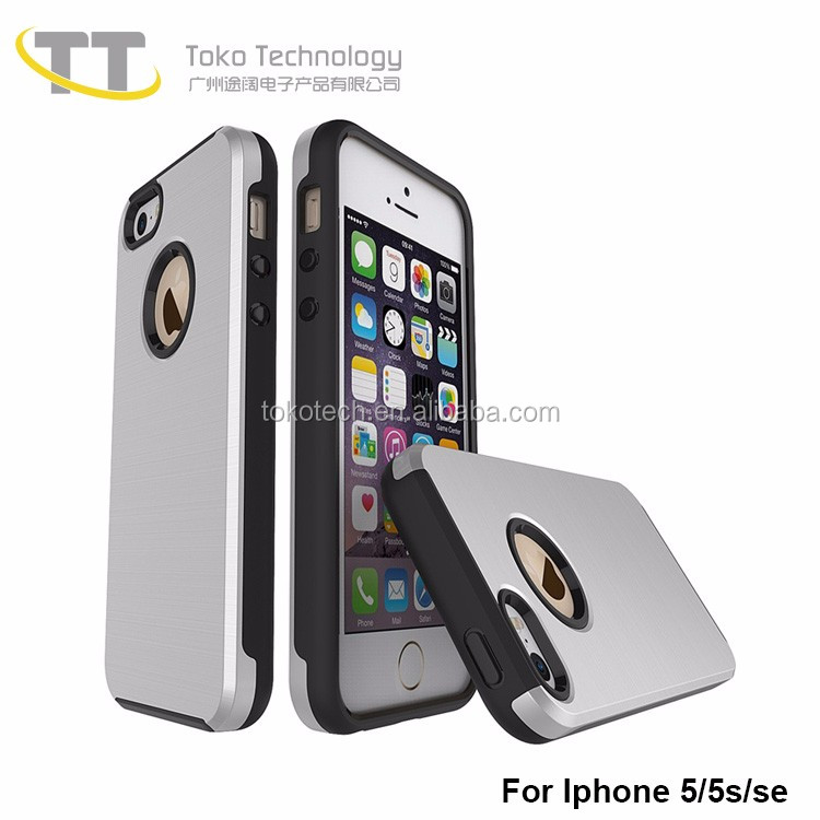 Hot Sale Black Mobile Cell Phone Cases for Iphone5 Bulk Buy From China