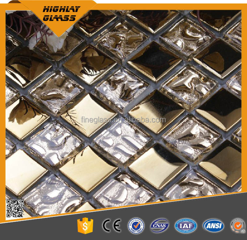 Top Strength Coloured Decorative Pattern Glass Block