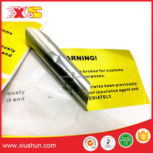 Professional direct manufacturer warning void security label stickers